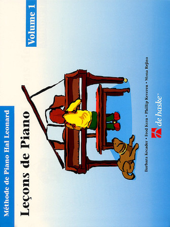 Product Cover for Piano Lessons Book 1 – French Edition