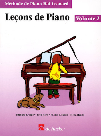 Product Cover for Piano Lessons Book 2 – French Edition