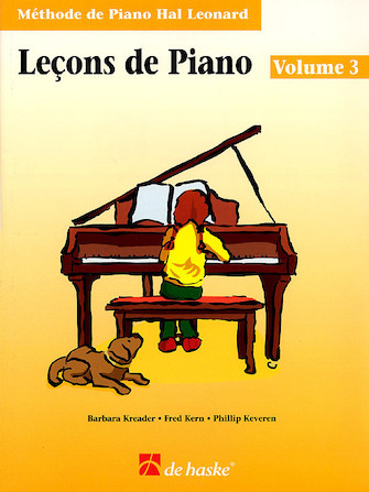 Product Cover for Piano Lessons Book 3 – French Edition
