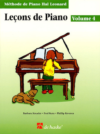 Product Cover for Piano Lessons Book 4 – French Edition