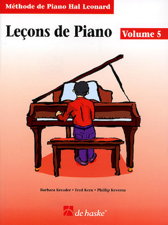 Product Cover for Piano Lessons Book 5 – French Edition