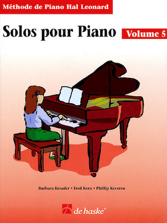 Product Cover for Piano Solos Book 5 – French Edition