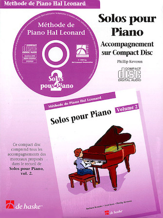 Product Cover for Piano Solos Book 2 – CD – French Edition