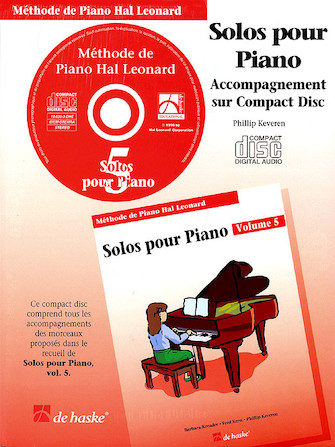 Product Cover for Piano Solos Book 5 – CD – French Edition