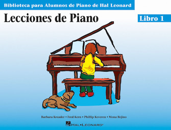 Product Cover for Piano Lessons Book 1 – Spanish Edition