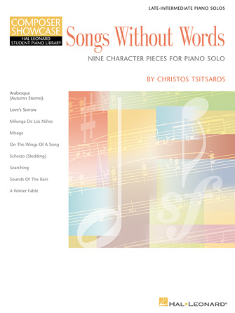 Product Cover for Songs Without Words – Nine Character Pieces for Piano Solo