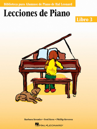 Product Cover for Piano Lessons Book 3 – Spanish Edition