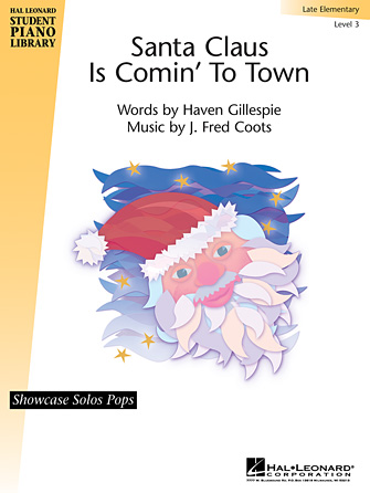 Product Cover for Santa Claus Is Comin' to Town