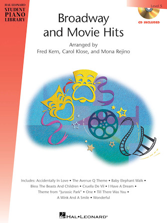 Broadway and Movie Hits – Level 5 – Book/CD Pack