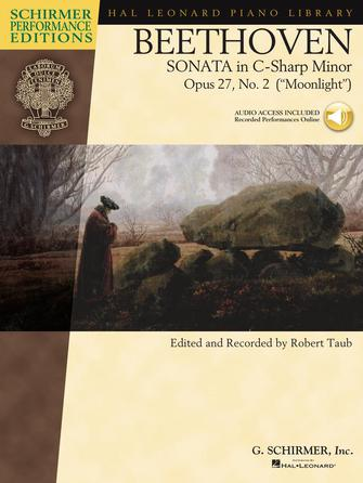 "Product Cover for Beethoven – Sonata in C-Sharp Minor, Opus 27, No. 2 (""Moonlight"")"
