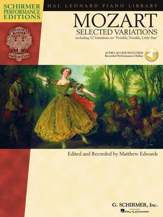 Product Cover for Mozart – Selected Variations