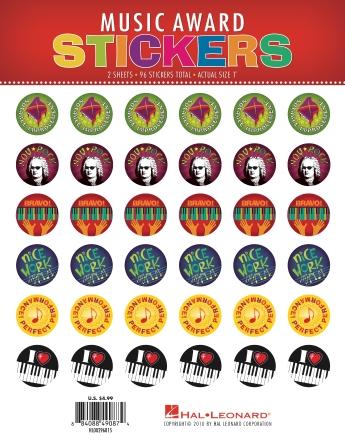 Music Award Stickers