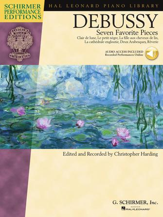 Product Cover for Claude Debussy – Seven Favorite Pieces
