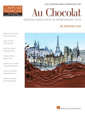 Product Cover for Au Chocolat – Original Piano Solos in Impressionist Style