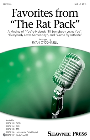 Favorites From the Rat Pack : SAB : Ryan O'Connell : Sheet Music : 00298184 : 888680951221 : 1540057844