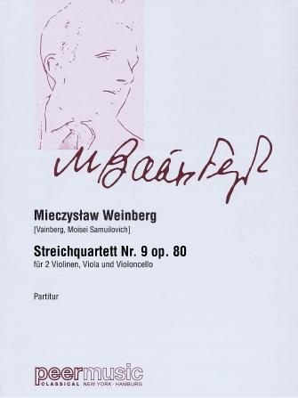 Product Cover for String Quartet No. 9