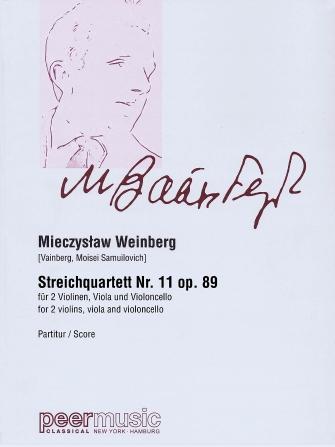 Product Cover for String Quartet No. 11