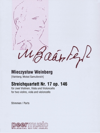 Product Cover for String Quartet No. 17