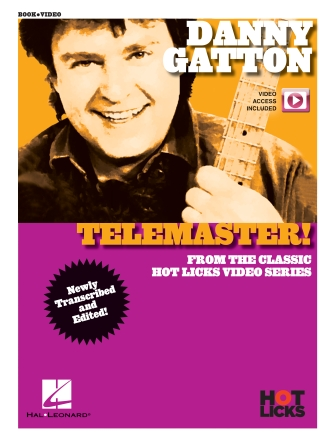 Product Cover for Danny Gatton - Telemaster (hot Licks Book/video)