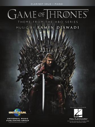 Product Cover for Game of Thrones for Clarinet & Piano