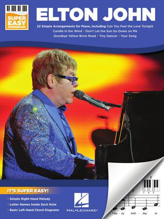 Product Cover for Elton John – Super Easy Songbook