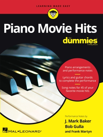 Product Cover for Piano Movie Hits for Dummies®