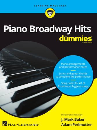 Product Cover for Piano Broadway Hits for Dummies