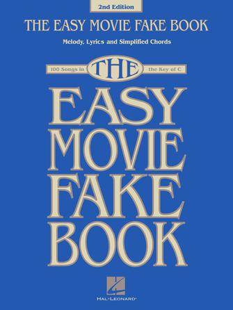 Product Cover for The Easy Movie Fake Book – 2nd Edition