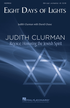 Eight Days of Lights : SSA : Judith Clurman : Judith Clurman : Sheet Music : 00298924 : 888680955328