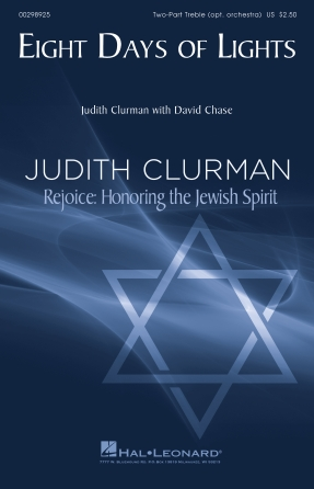 Eight Days of Lights : SA : Judith Clurman : Judith Clurman : Sheet Music : 00298925 : 888680955335