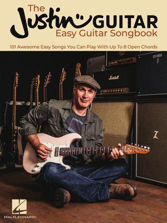 The JustinGuitar Easy Guitar Songbook