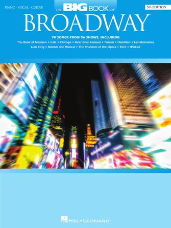 Product Cover for The Big Book of Broadway – 5th Edition