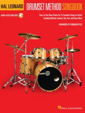 Product Cover for Hal Leonard Drumset Method Songbook