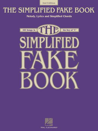 Product Cover for Simplified Fake Book – 2nd Edition