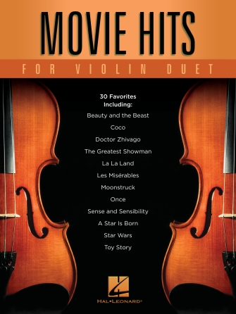 Product Cover for Movie Hits for Violin Duet