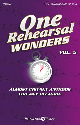 Product Cover for One Rehearsal Wonders, Volume 5