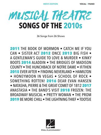 Product Cover for Musical Theatre Songs of the 2010s: Men's Edition