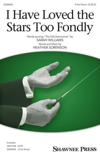 Product Cover for I Have Loved the Stars Too Fondly