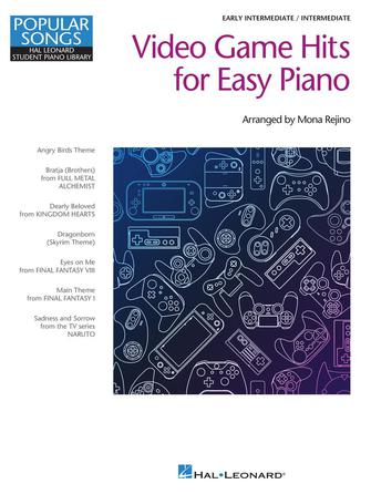 Product Cover for Video Game Hits for Easy Piano – Popular Songs Series