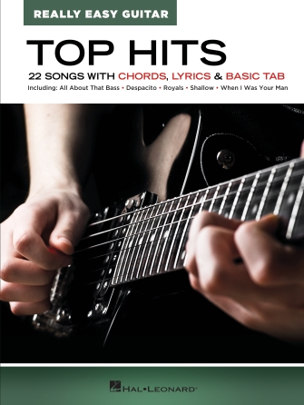 Product Cover for Top Hits – Really Easy Guitar