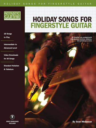 Product Cover for Holiday Songs for Fingerstyle Guitar
