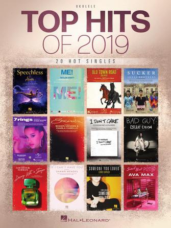 Product Cover for Top Hits of 2019 for Ukulele