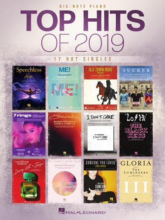Top Hits Of 2019 - Big-note Piano