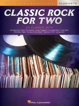 Product Cover for Classic Rock for Two Clarinets