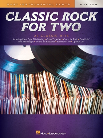 Product Cover for Classic Rock for Two Violins