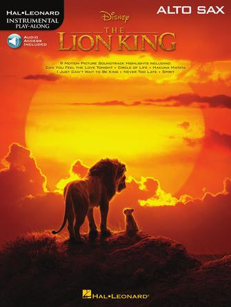 Product Cover for The Lion King for Alto Sax