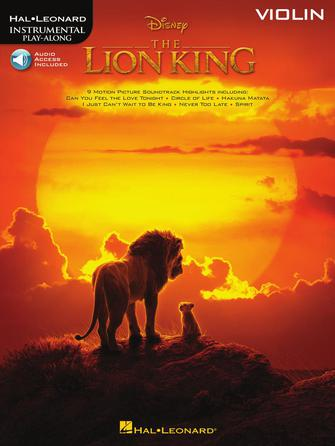 Product Cover for The Lion King for Violin