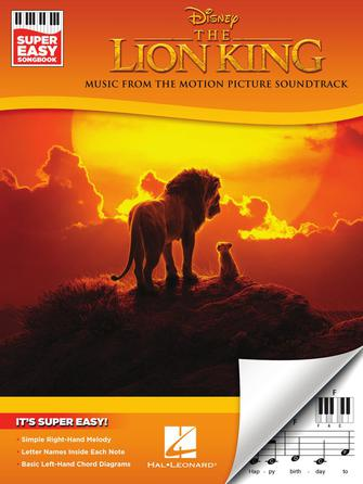 The Lion King Super Easy Songbook