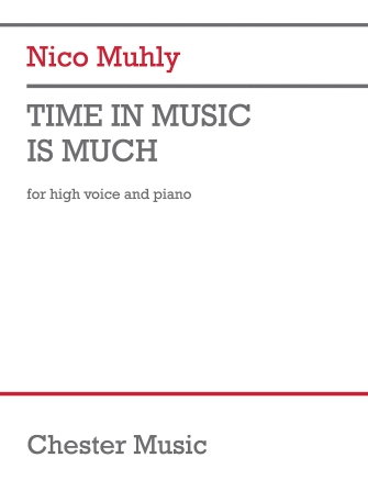 Product Cover for Time in Music Is Much