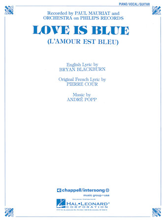 Product Cover for Love Is Blue